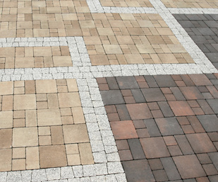 first class block paving cleaning